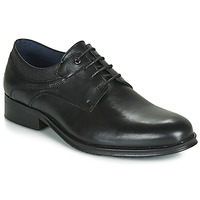 Topánky Muži Derbie Carlington LUCIEN Čierna