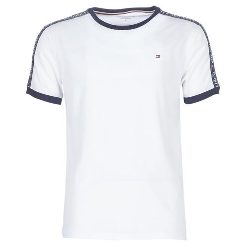 Oblečenie Muži Tričká s krátkym rukávom Tommy Hilfiger AUTHENTIC-UM0UM00563 Biela