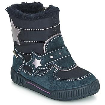 Topánky Dievčatá Snehule  Primigi RIDE 19 GORE-TEX Modrá