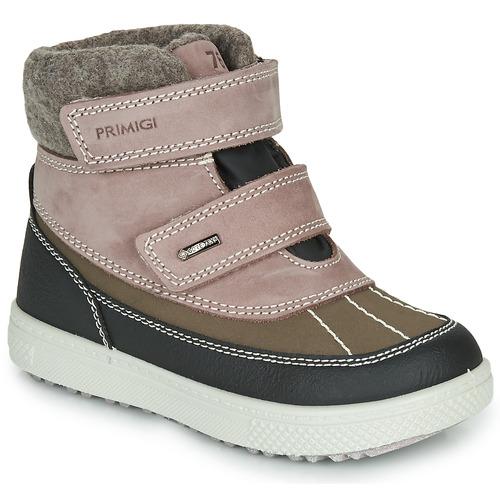 Topánky Dievčatá Polokozačky Primigi PEPYS GORE-TEX Old / Ružová / Hnedá