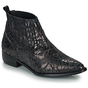 Topánky Ženy Polokozačky Ippon Vintage GILL ARTY Čierna