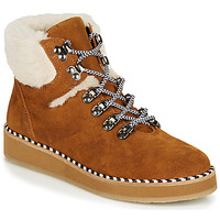 Topánky Ženy Polokozačky Ippon Vintage RIDE LAND Ťavia hnedá