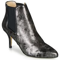 Topánky Ženy Čižmičky Ippon Vintage SILVER LAKE Čierna / Strieborná