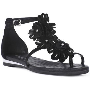 Topánky Ženy Sandále Sono Italiana CROSTA NERO Nero