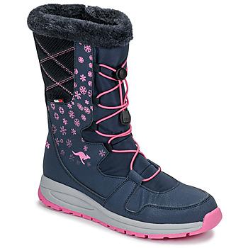 Topánky Ženy Obuv do snehu Kangaroos K-GLAZE RTX Námornícka modrá / Ružová