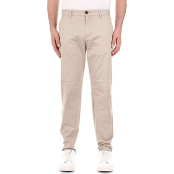 Oblečenie Muži Nohavice Chinos a Carrot Selected 16066556 Beige