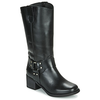 Topánky Ženy Čižmy do mesta Musse & Cloud AUSTIN Čierna