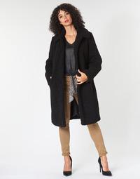 Oblečenie Ženy Kabáty Le Temps des Cerises DOLL Čierna