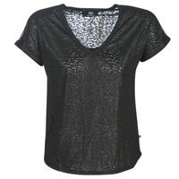 Oblečenie Ženy Tričká s krátkym rukávom Le Temps des Cerises OKINAWA Čierna