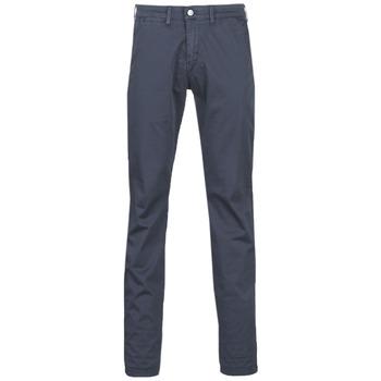 Oblečenie Muži Nohavice Chinos a Carrot Le Temps des Cerises JAS3 Námornícka modrá
