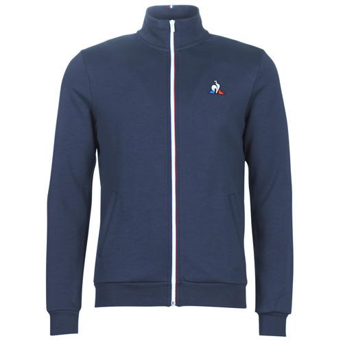 Oblečenie Muži Vrchné bundy Le Coq Sportif ESS FZ SWEAT N°2 M Modrá / Námornícka modrá