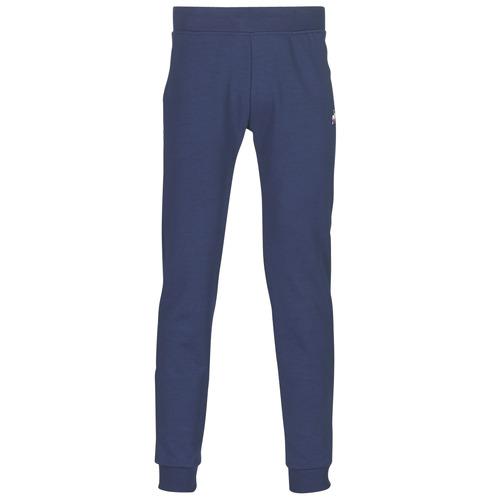 Oblečenie Muži Tepláky a vrchné oblečenie Le Coq Sportif ESS PANT SLIM N°1 M Modrá / Námornícka modrá