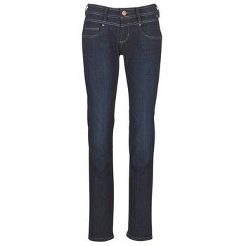 Oblečenie Ženy Rovné džínsy Freeman T.Porter CATHYA SDM Modrá