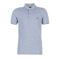 Oblečenie Muži Polokošele s krátkym rukávom Selected SLHTWIST Námornícka modrá