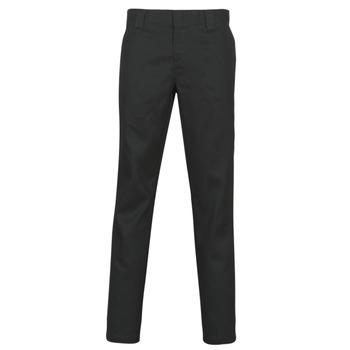 Oblečenie Muži Nohavice päťvreckové Dickies SLIM FIT WORK PNT Čierna