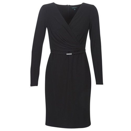 Oblečenie Ženy Krátke šaty Lauren Ralph Lauren ALEXIE Čierna