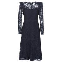 Oblečenie Ženy Krátke šaty Lauren Ralph Lauren BLAIR Námornícka modrá