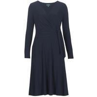 Oblečenie Ženy Dlhé šaty Lauren Ralph Lauren COREEN Námornícka modrá
