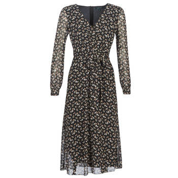 Oblečenie Ženy Dlhé šaty Lauren Ralph Lauren HOLDEN Viacfarebná