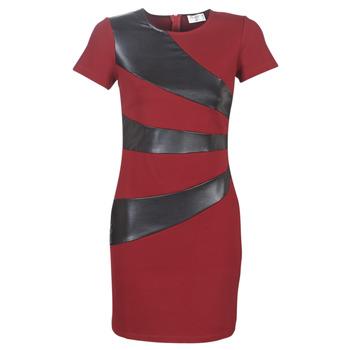 Oblečenie Ženy Krátke šaty Moony Mood LIVEO Bordová / Čierna