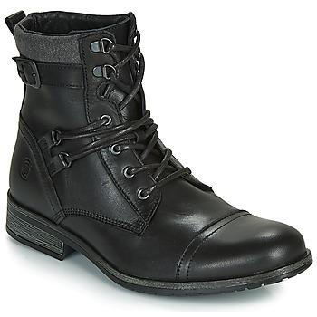 Topánky Muži Polokozačky Casual Attitude RIVIGH Čierna