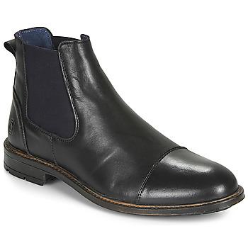 Topánky Muži Polokozačky Casual Attitude JANDY Čierna