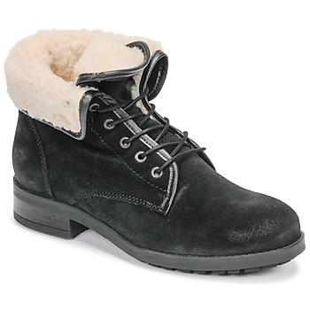 Topánky Ženy Polokozačky Casual Attitude LEILA Čierna