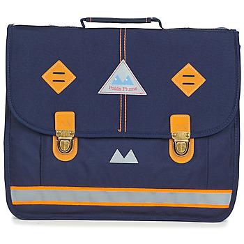 Tašky Chlapci Školské tašky a aktovky Poids Plume VISIBILITY CARTABLE 38 CM Námornícka modrá