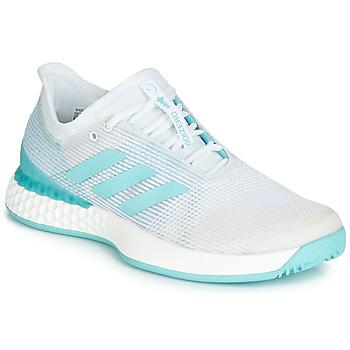 Topánky Ženy Bežecká a trailová obuv adidas Performance ADIZERO UBERSONIC 3M X PARLEY Čierna / Šedá
