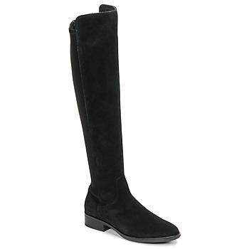 Topánky Ženy Cizmy Nad Kolenà Clarks PURE CADDY Čierna