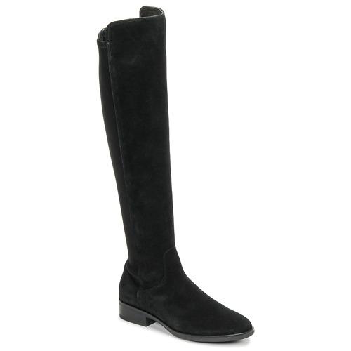 Topánky Ženy Vysoké čižmy Clarks PURE CADDY Čierna