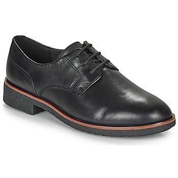 Topánky Ženy Derbie Clarks GRIFFIN LANE Čierna