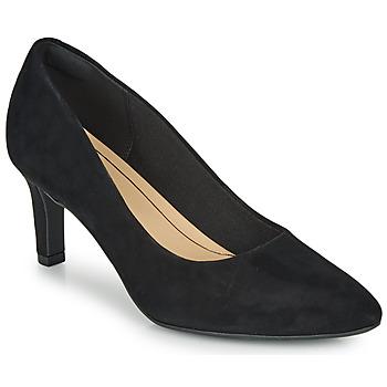 Topánky Ženy Lodičky Clarks CALLA ROSE Čierna