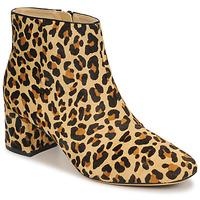 Topánky Ženy Čižmičky Clarks SHEER FLORA Leopard