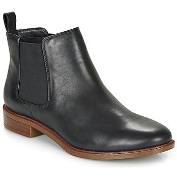 Topánky Ženy Polokozačky Clarks TAYLOR SHINE Čierna