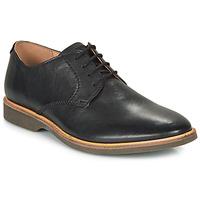 Topánky Muži Derbie Clarks ATTICUS LACE Čierna