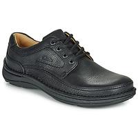 Topánky Muži Derbie Clarks NATURE THREE Čierna