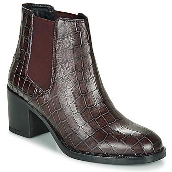 Topánky Ženy Čižmičky Clarks MASCARPONE Bordová
