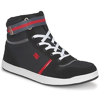 Topánky Ženy Členkové tenisky Dorotennis BASKET NYLON ATTACHE čierna