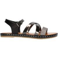 Topánky Ženy Sandále Cala Molina M751D Gunmetal