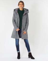 Oblečenie Ženy Kabáty Vila VICANIA Šedá
