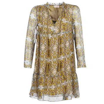 Oblečenie Ženy Krátke šaty Moony Mood LONI Žltá