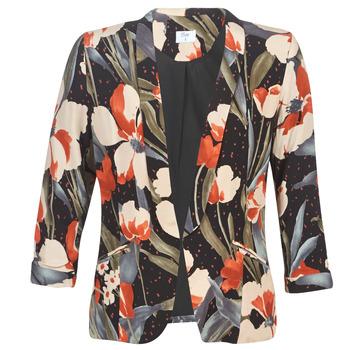 Oblečenie Ženy Saká a blejzre Betty London IOUPA Čierna / Viacfarebná