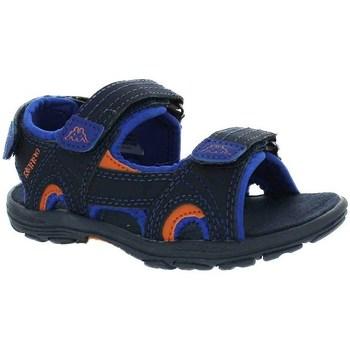 Topánky Chlapci Sandále Kappa Early II Čierna, Modrá, Oranžová