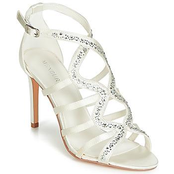 Topánky Ženy Sandále Menbur MAFAT Slonia kosť