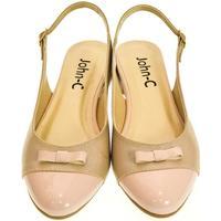 Topánky Ženy Sandále Just Mazzoni Dámske svetlo-ružové sandále EVELINE ružová