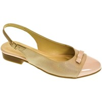 Topánky Ženy Balerínky a babies John-C Dámske svetlo-ružové sandále EVELINE ružová