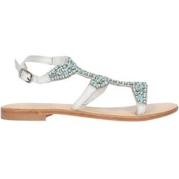 Topánky Ženy Sandále Cristin CATRIN9 White and blue