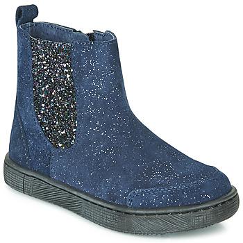 Topánky Dievčatá Polokozačky Mod'8 BLABIS Námornícka modrá