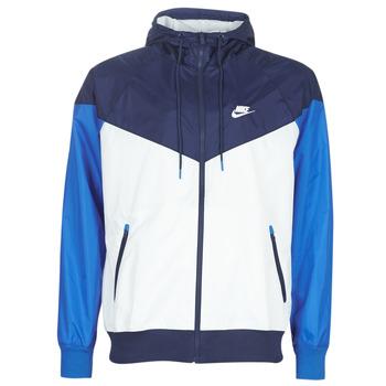 Oblečenie Muži Vetrovky a bundy Windstopper Nike M NSW HE WR JKT HD Modrá / Biela